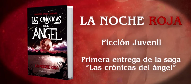 """<h2>La noche roja</h2><br/>Marisol Sales, la autora de """"Cronicas del ángel. La noche roja"""". Escribió su libro con 12 años. Es la autora de éxito más joven de Bohodón ediciones<br>"""